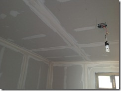 after taping ceiling