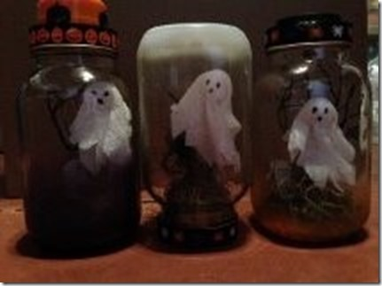Ghosts in Jars not lighted